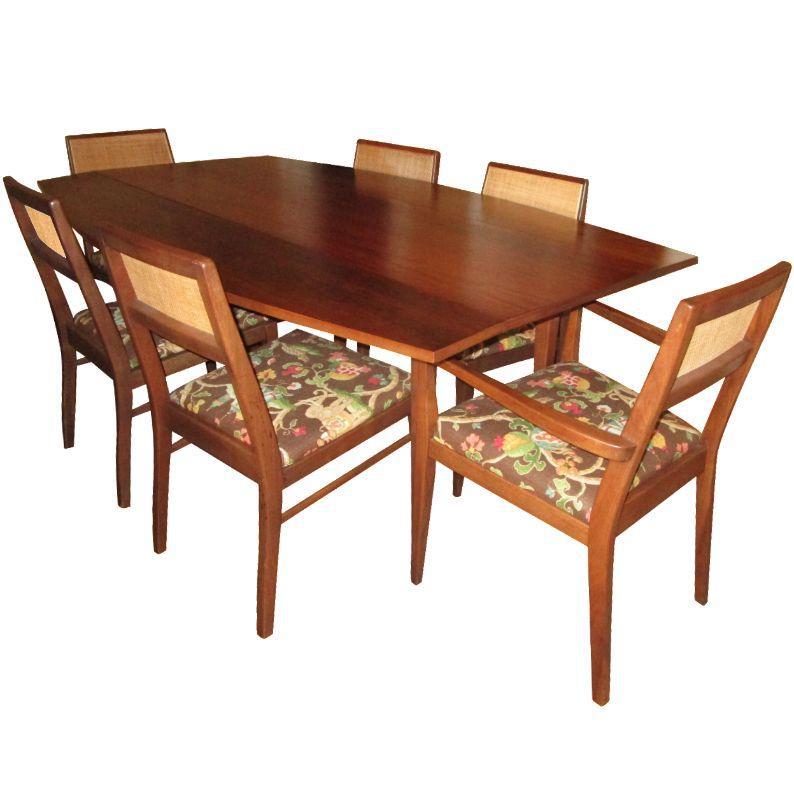 mid century dining room set chairish