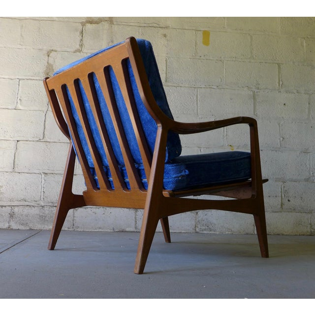 Norwegian Mid Century Modern Lounge Chair - Image 3 of 6
