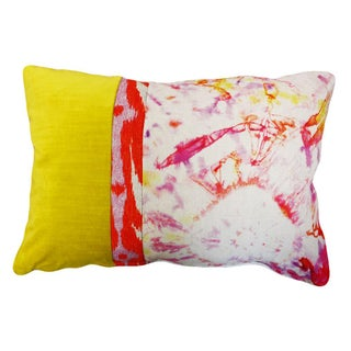 Kim Salmela Modern Rectangular Colorblock Pillow
