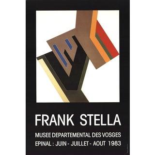 Frank Stella-Musee Departemental Des Vosges-1983 Poster