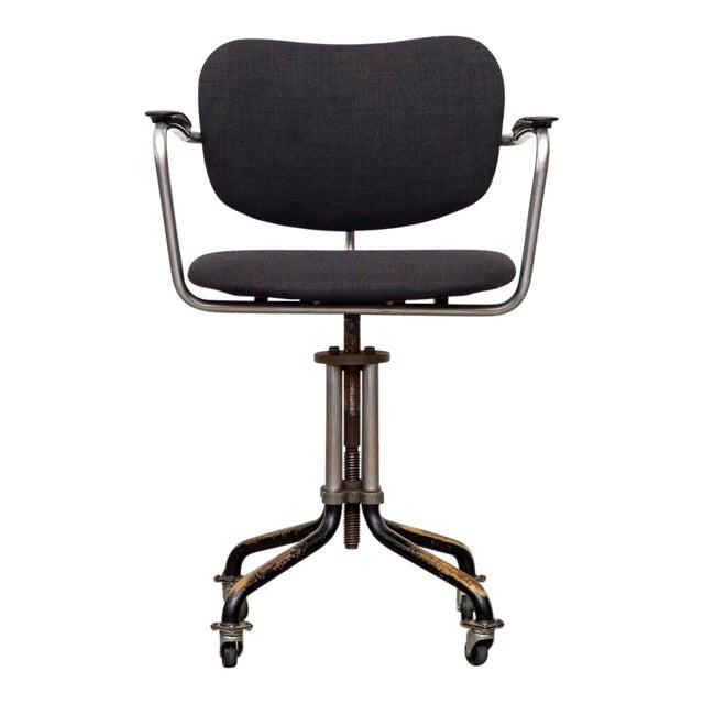 De Witt Industrial Rolling Office Chair Chairish
