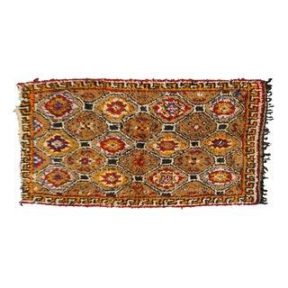 Vintage Moroccan Beni Ourain Rug - 4′4″ × 6′7″
