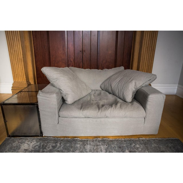"""New Restoration Hardware """"Cloud"""" Chair-And-A-Half - Image 3 of 5"""