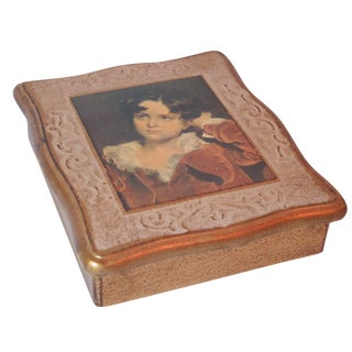 Florentine Portrait Box