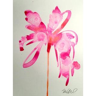 """""""Barbie Splash"""" Original Watercolor Painting"""