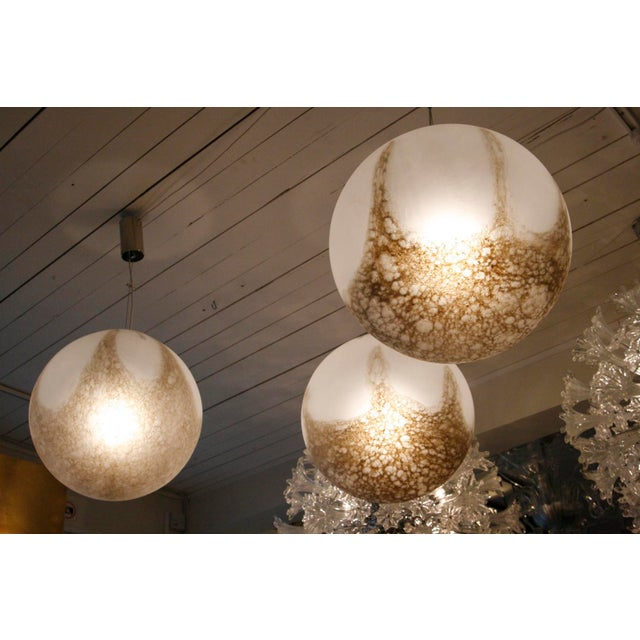 """Barbarico"" Globe Ceiling Light - Image 2 of 3"