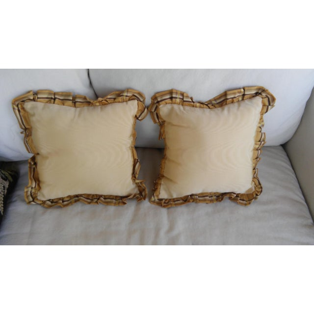 Luxe Leopards & Zebra With Taffeta Ruffled Pillows - Set of 5 - Image 5 of 9