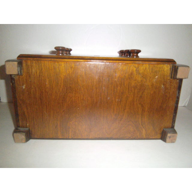 Hand Made Vintage Jewelry Chest - Image 8 of 8