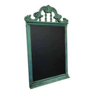 Traditional Green Framed Chalkboard