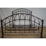 Image of Victorian Style Iron Queen Size Bed