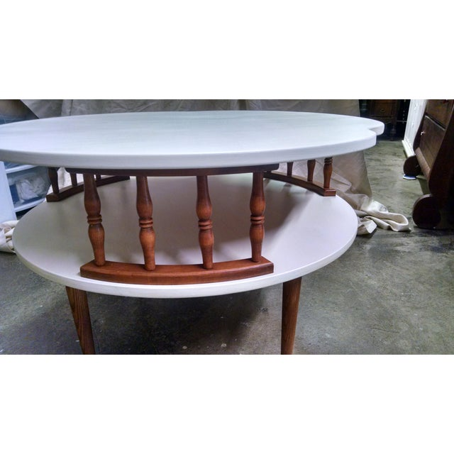 Ethan Allen Trevor Coffee Table: Mid Century Modern Ethan Allen Coffee Table