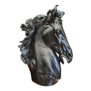 Monumental Horse Head Sculpture