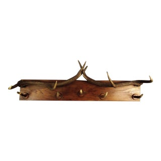 Large French Antler Hat & Coat Rack