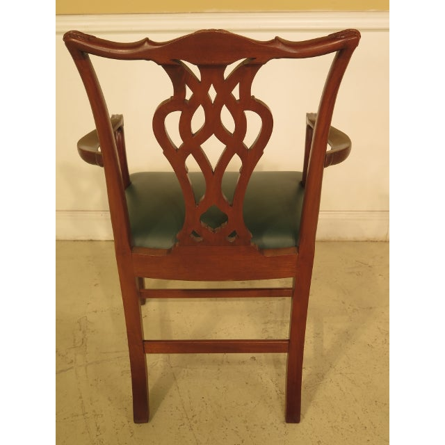 Chippendale Mahogany Dining Room Chairs - Set of 8 - Image 7 of 11