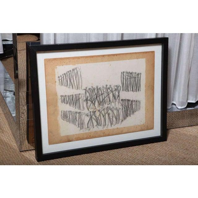 Original Charcoal Bauhaus Style Art - Image 3 of 9