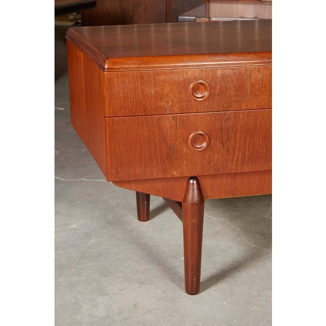 Danish Modern Teak Sideboard - Image 6 of 7