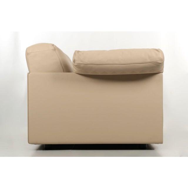 """Lievore Altherr Molina for Poltrona Frau """"Cassiopea"""" Leather Sofa - Image 4 of 11"""