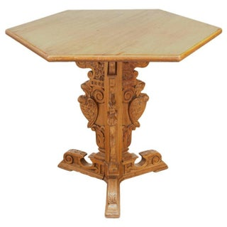 19th Century Renaissance Style Center Table
