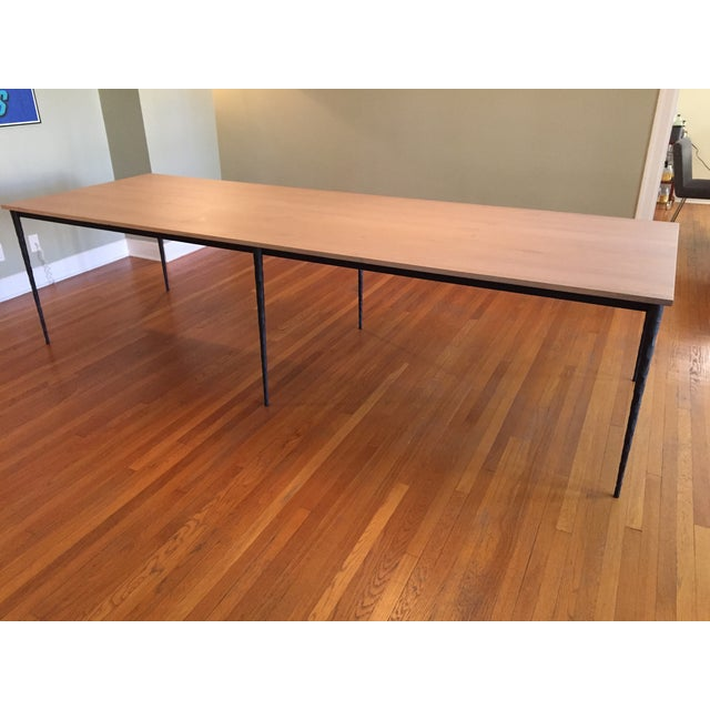 Crate And Barrel Alcometti Dining Table Chairish