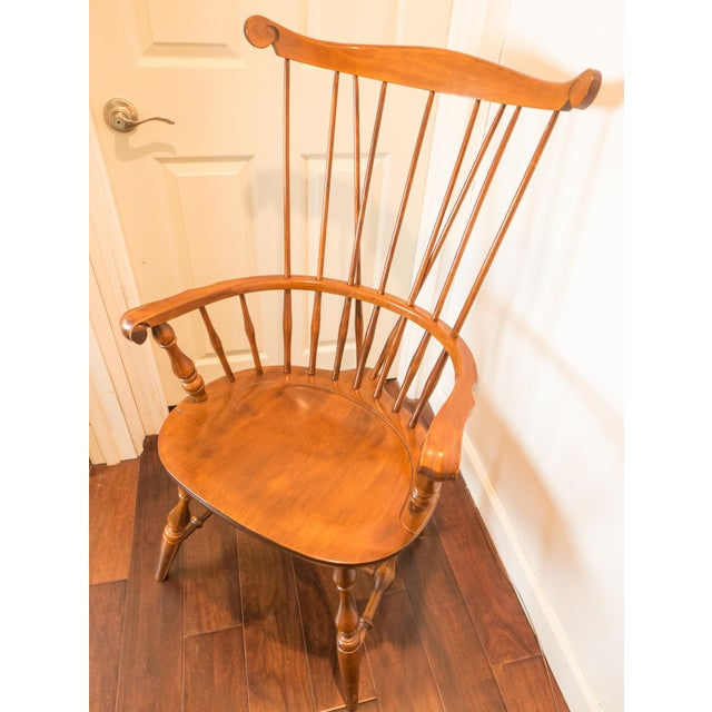 High Comb Back Windsor Chair - Image 3 of 6