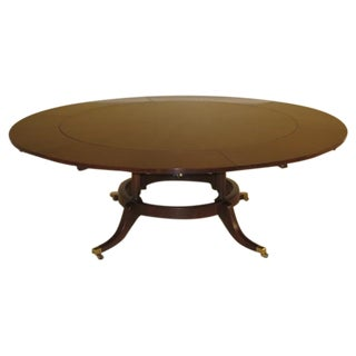 EJ Victor Round Mahogany Dining Table