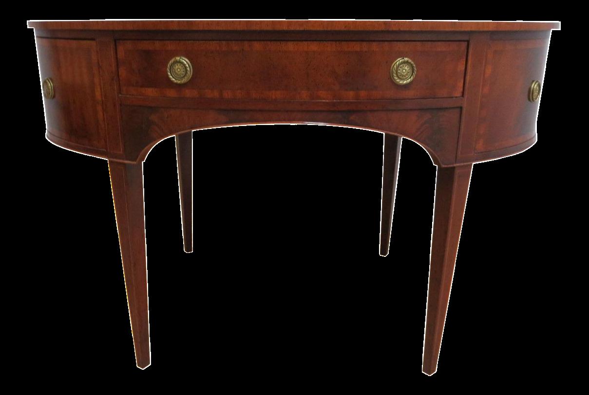 henredon flame mahogany oval used henredon furniture save up to 60 at chairish