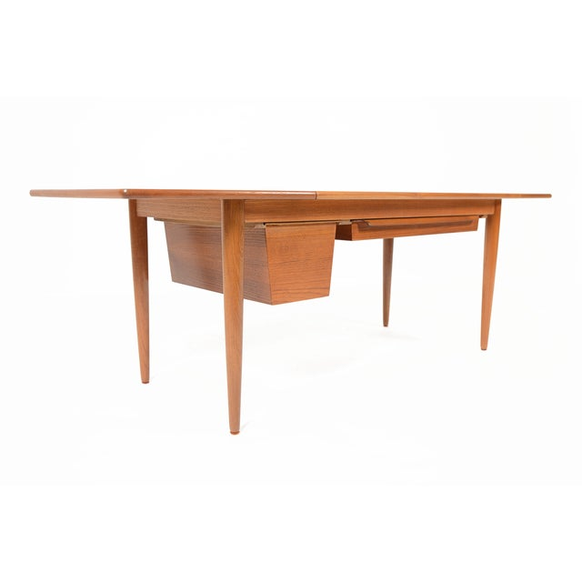 Danish Modern Drop Leaf Coffee Table Chairish