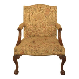 Kittinger Claw Foot Mahogany White House Chair