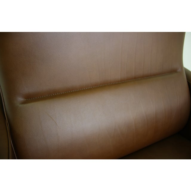 Fritz Hansen Leather Lounge Chair - 6 Avail. - Image 7 of 7