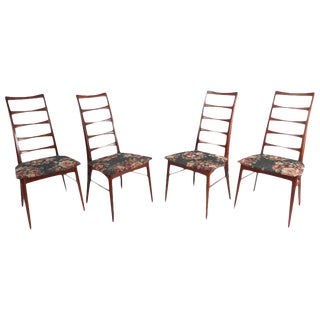 Niels Koefoed for Raymor Ladder Back Dining Chairs - Set of 4