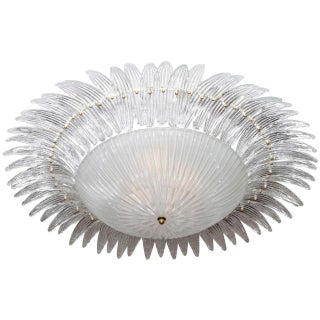 Italian Palm Leaves Chandelier