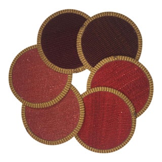Kilim Coasters Set of 6 | Umut