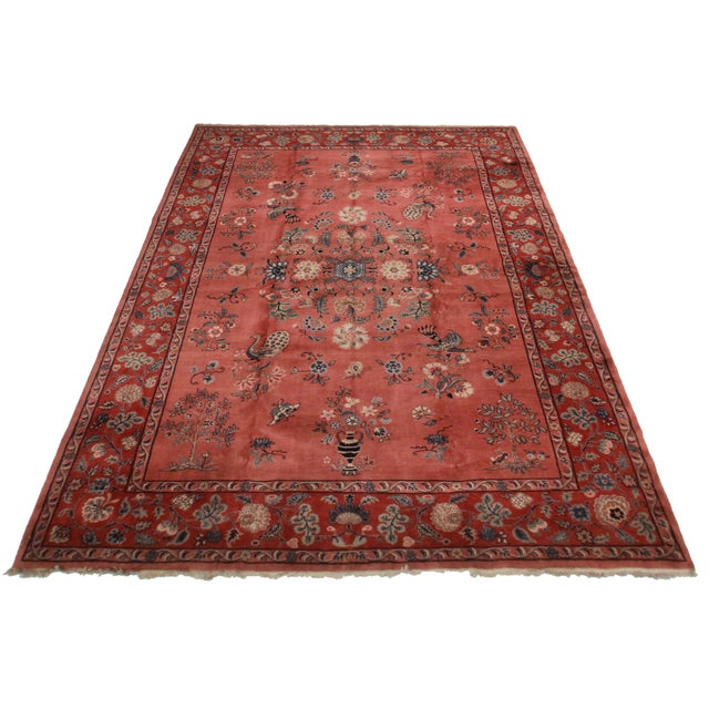 Rugsindallas Vintage Hand Knotted Wool Turkish Sparta Rug - 10′5″ × 14′8″ - Image 2 of 2