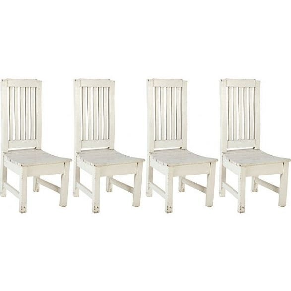 Country Kitchen Chairs - Set of 4 - Image 1 of 2