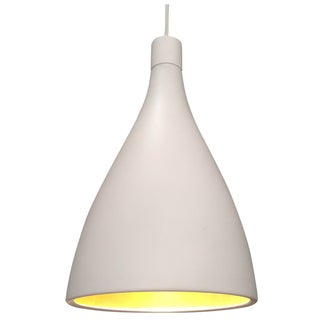White & Gold Pendant Light Fixture
