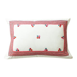 Chiapas Embroidered Pillow Cover