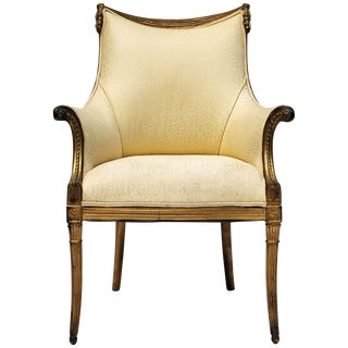 Gilded Arm Chair