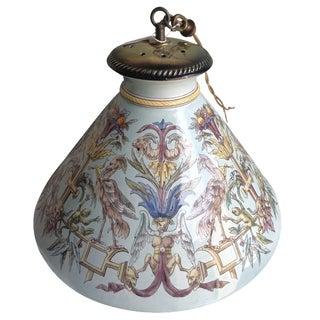 Italian Ceramic Pendant