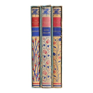 American Poetry Slipcase Book Gift Set- Set of 3