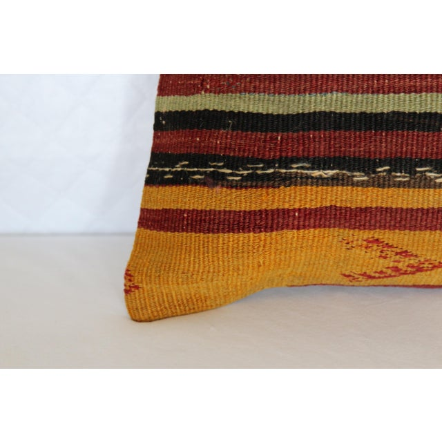 Turkish Kilim Pillow - Image 4 of 6