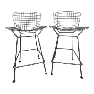 Harry Bertoia Barstools for Knoll - A Pair