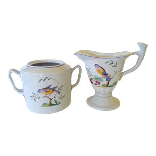 Spode Cream & Sugar Set - A Pair