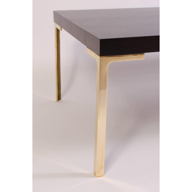 Astor Cocktail Table in Ebonized Walnut by Montage - Image 4 of 6