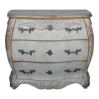 Swedish Bombé Chest of Drawers (#23-10)