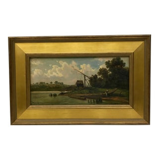 Antique Dutch Oil Painting