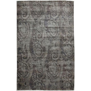 """Vibrance, Hand Knotted Area Rug - 6' 0"""" x 9' 2"""""""