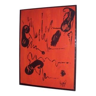 """""""Tangerine Concerto"""" Original Painting"""