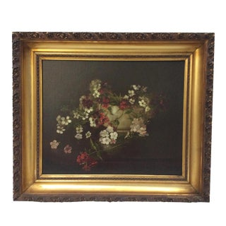 Antique Floral Painting