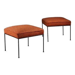 Original Paul McCobb Pair of Planner Group Stools, USA, 1950s