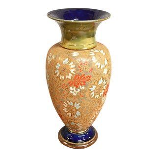 Traditional Doulton Lambeth Vase
